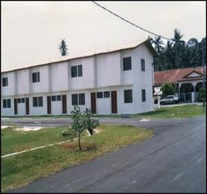 taman pelangi low cost house